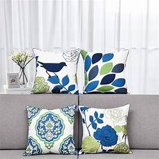 wendana set of 4 decorative throw pillow cover 18 quot x18 quot home