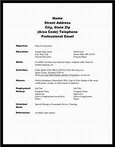 College Resume Examples For High School Seniors 10 Stylish High School Senior Project Ideas 2020