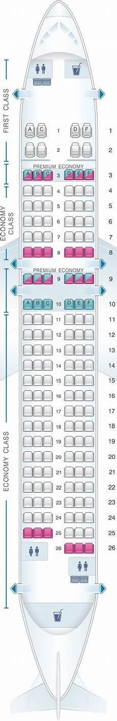 Airbus A320 214 Seating Chart Seat Map Alaska Airlines Horizon Air Airbus A320 214