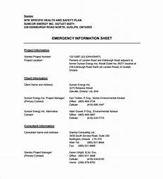 Sample Safety Plan 17 Health And Safety Plan Templates Free Sample