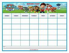 Free Printable Potty Chart Paw Patrol Paw Patrol Reward Chart Reward Chart Kids Potty