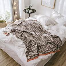 Summer Throws For Sofa 3d Image by Aliexpress Buy 2018 Summer Cotton Blanket Bedspread