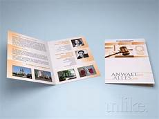 4 Pages Brochure Bifold Four Page Brochures By Srba Jovanovic Cibin At