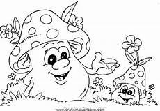 Malvorlagen Herbst Pilze Pilze 17 Gratis Malvorlage In Herbst Natur Ausmalen