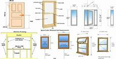 Window Measurements Information About Doors And Windows Dimensions With Pdf