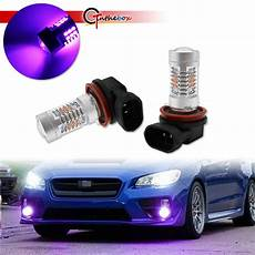 2017 Wrx Bulb Size Chart Pink Purple H11 H8 Led Drl Fog Driving Lights Bulbs For
