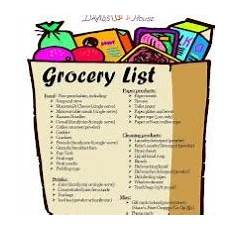 Normal Grocery List Healthy Grocery List How To Include Grains In Your Diet