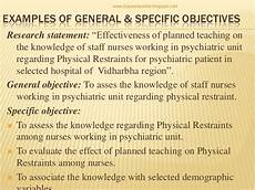 Research Objectives Examples Writing Research Objectives