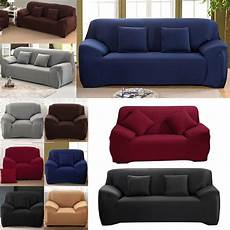 2 Sofa Cover For 3 Cushions 3d Image by 1 2 3 Seater Easy Sofa Soft Slipcover Stretch Covers