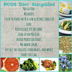 my pcos diet i didn t there was a special diet for