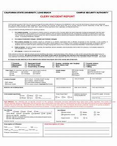Domestic Incident Report 2020 Incident Report Form Fillable Printable Pdf