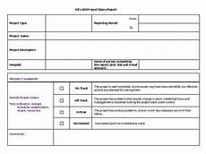 Status Report Formats 25 Status Report Templates Free Sample Example Format