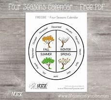 Season Wheel Chart Four Seasons Wheel Calendar Seasons Kindergarten