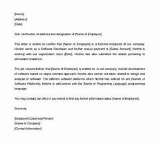 Sample Letter To Recruiter For Job 15 Letter Of Employment Templates Doc Pdf Free
