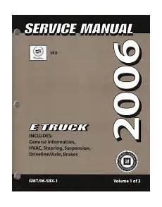 2006 Cadillac Srx Factory Service Manual 3 Volume Set