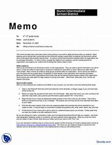 Letters And Memo Memo Sample Communication In Business Lecture Handout