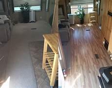 5th wheel floor remodel before after gorving