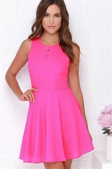 pink dress skater dress fit and flare dress 48 00
