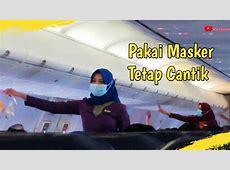 Pramugari Cantik Sriwijaya Air Memakai Masker   YouTube