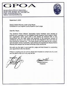 Letter Of Recommendation For Police Officer Letters Of Recommendation For Police Officers Free