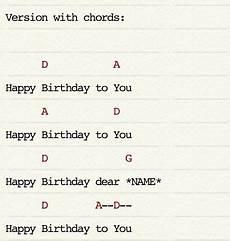 Happy Birthday Ukulele Chords Traditional Happy Birthday Ukulele Chords Canciones De