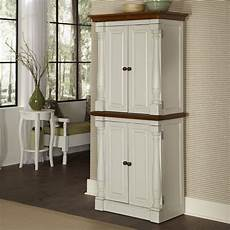 integrating white kitchen pantry cabinet for your storage