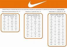 Nike 7y Size Chart Nike Youth Size Chart Amulette