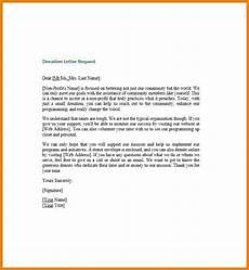 Non Profit Donation Letter 5 Donation Request Letter For Non Profit Sales Slip