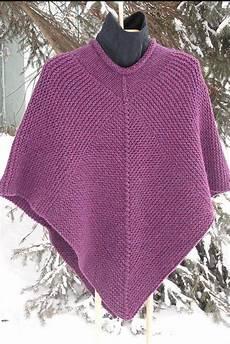 knitting poncho 50 x 50 poncho knitting pattern pdf garter stitch chunky