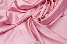 Light Pink Satin Fabric Silk Fabric Light Pink Satin Fabric Premium Photo