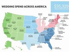 The Knot Wedding Budget Average Cost Of A Wedding In The United States For 2016