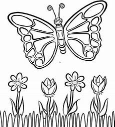 free butterfly coloring page parents