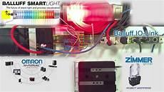 Balluff Smart Light Programming Omron Plc Io Link Balluff Smart Light Zimmer Servo