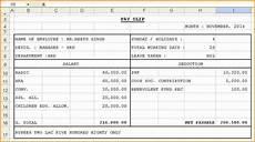 Salary Slip Format India 6 Salary Slip Format In India Simple Salary Slip