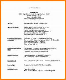 Template For First Resume 5 Resume Templates For Teens Ledger Review