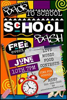 Back To School Flyer Templates Free 29 Back To School Flyer Designs In Psd Vector Eps