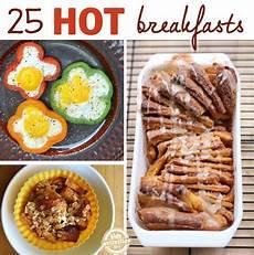 25 hot breakfast ideas