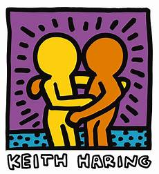keith haring best buddies keith haring best buddies ii 16x20 giclee pop print ebay