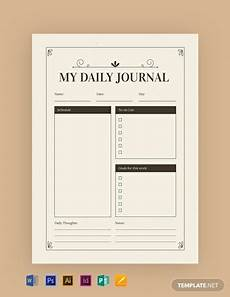 Journal Template For Word Free Vintage Journal Template Word Doc Psd