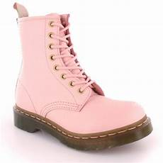 Dr Martens Light Pink Pearl Dr Martens 1460w Qq Pearl Womens Leather 8 Eyelet Boots