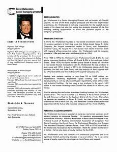 Short Bio Template Professional Bio Template E Commercewordpress