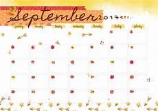 Free Printable September Calendar September 2017 Printable Colorful Calendar Free Download
