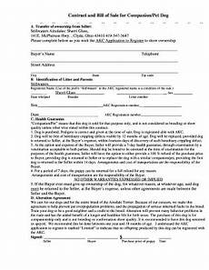 Puppy Contract Of Sale Puppy Contract Template Pdf Fill Online Printable