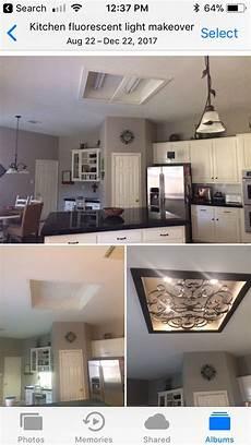 Converting Fluorescent Kitchen Lights Kitchen Fluorescent Light Makeover We Removed Old