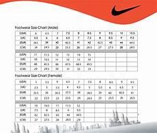 Mens Nike Size Chart Tfc Football Size Chart