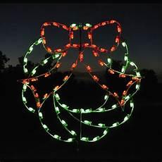 Outdoor Christmas Wreaths With Led Lights Led Christmas Wreath Light Display 4