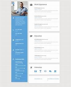 Website Cv 20 Best Resume And Cv Website Templates 2019 Responsive