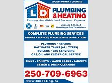 Ladysmith Duncan Plumbing & Heating   Opening Hours