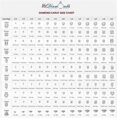 Pear Shaped Diamond Mm Size Chart Diamond Sizing Chart 1030 215 1040 In 2019 Diamond