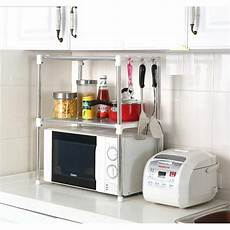 multifunction microwave oven stainless steel shelf kitchen